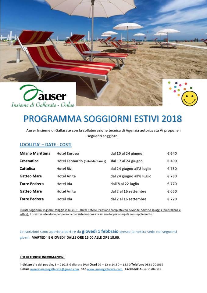Best circolo bdr soggiorni estivi gallery house design for Enam soggiorni estivi 2017